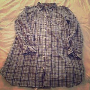 Victoria secret button up sleep dress